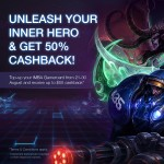 IMBA Gamercard Cash Rebate